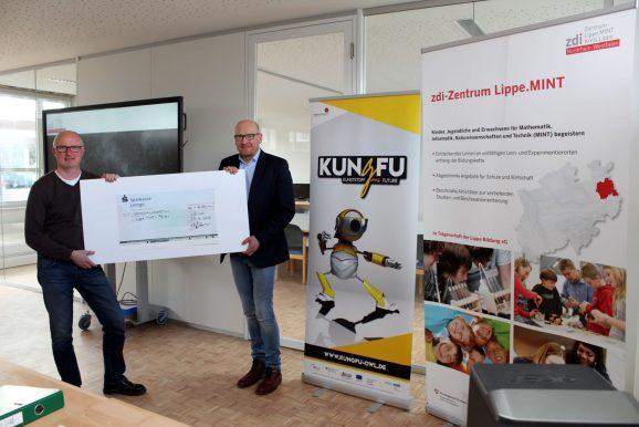 KungFu unterstützt Lippe.MINT-Fonds