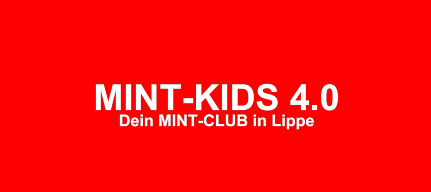 Lippe.MINT-Kids 4.0 gehen an den Start!