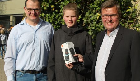 Sekundarschüler aus Blomberg gewinnt Preis beim Lippe.MINT-Tag