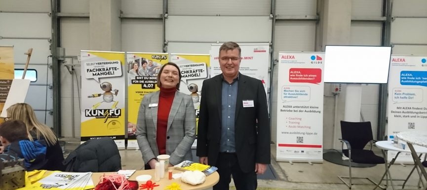 Ausbildungsmesse Blomberg - Gemeinsam gegen den Fachkräftemangel