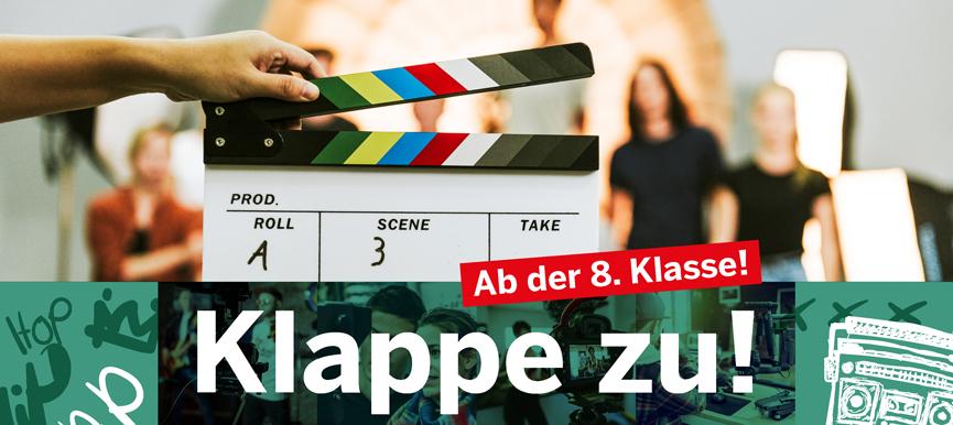 Klappe zu! - Film, VLog, Video - Workshops rund um das bewegte Bild