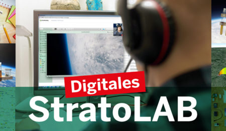 Digitales StratoLab 2021 - VON ZUHAUSE IN DIE STRATOSPHÄRE!