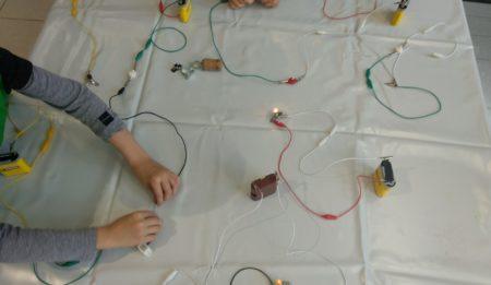 Mit Pipette oder Batterie - kleine Forscher forschen zu Wasser, Strom und Energie