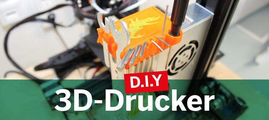 D.I.Y. 3D-Drucker - Dein eigener Drucker für zuhause